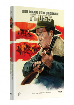 "Hollywood Classic Hartbox Collection ""DER MANN VOM GROSSEN FLUSS""  - Grosse Hartbox Cover A [Blu-ray] Limited 50 Edition - Uncut"