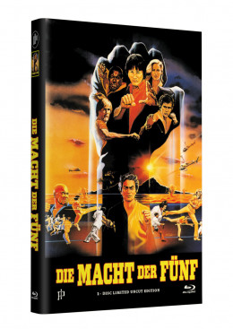 DIE MACHT DER FÜNF - Grosse Hartbox Cover A [Blu-ray] Limited 33 Edition - Uncut