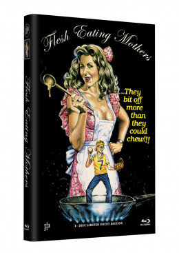 FLESH EATING MOTHERS - Grosse Hartbox Cover A [Blu-ray] Limited 33 Edition - Uncut