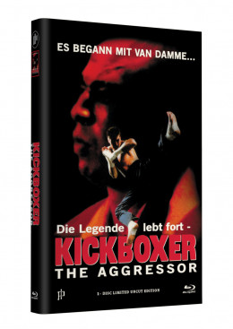 KICKBOXER 4 - THE AGGRESSOR - Grosse Hartbox Cover A [Blu-ray] Limited 33 Edition - Uncut