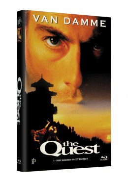 THE QUEST - Die Herausforderung (van Damme) - Grosse Hartbox Cover A [Blu-ray] Limited 33 Edition - Uncut