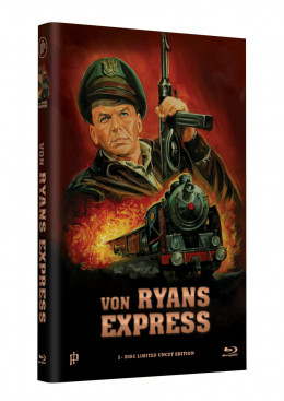 "Hollywood Classic Hartbox Collection ""VON RYANS EXPRESS"" - Grosse Hartbox Cover A [Blu-ray] Limited 50 Edition - Uncut"