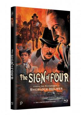 SHERLOCK HOLMES - DAS ZEICHEN DER VIER - Grosse Hartbox Cover A [Blu-ray] Limited 33 Edition - Uncut