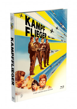 KAMPFFLIEGER - 2-Disc Mediabook Cover A [Blu-ray + DVD] Limited 50 Edition - Uncut