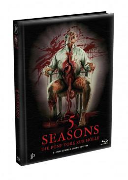 5 SEASONS - Die fünf Tore zur Hölle - 2-Disc wattiertes Mediabook - Cover A (Blu-ray + DVD) Limited Edition - Uncut