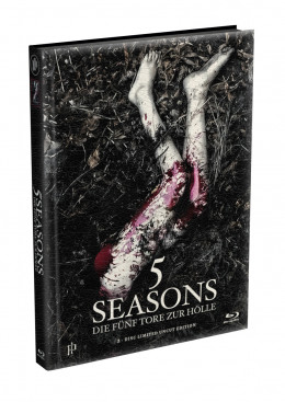 5 SEASONS - Die fünf Tore zur Hölle - 2-Disc wattiertes Mediabook - Cover B (Blu-ray + DVD) Limited 22 Edition - Uncut