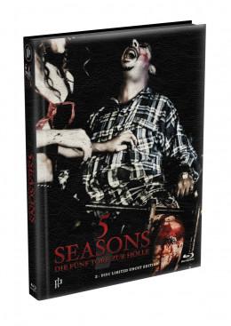 5 SEASONS - Die fünf Tore zur Hölle - 2-Disc wattiertes Mediabook - Cover C (Blu-ray + DVD) Limited 22 Edition - Uncut