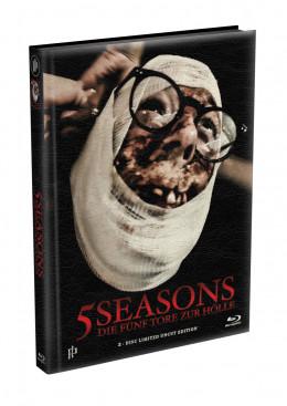5 SEASONS - Die fünf Tore zur Hölle - 2-Disc wattiertes Mediabook - Cover D (Blu-ray + DVD) Limited 22 Edition - Uncut