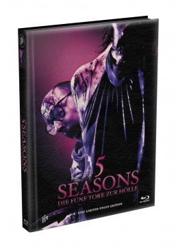 5 SEASONS - Die fünf Tore zur Hölle - 2-Disc wattiertes Mediabook - Cover E (Blu-ray + DVD) Limited 22 Edition - Uncut