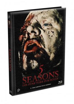 5 SEASONS - Die fünf Tore zur Hölle - 2-Disc wattiertes Mediabook - Cover H (Blu-ray + DVD) Limited 22 Edition - Uncut