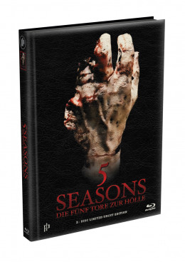 5 SEASONS - Die fünf Tore zur Hölle - 2-Disc wattiertes Mediabook - Cover I (Blu-ray + DVD) Limited 22 Edition - Uncut