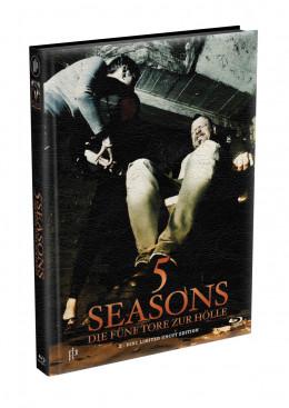 5 SEASONS - Die fünf Tore zur Hölle - 2-Disc wattiertes Mediabook - Cover J (Blu-ray + DVD) Limited 22 Edition - Uncut