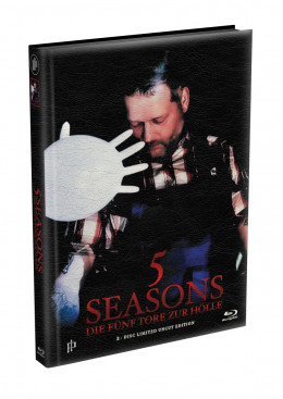 5 SEASONS - Die fünf Tore zur Hölle - 2-Disc wattiertes Mediabook - Cover K (Blu-ray + DVD) Limited 22 Edition - Uncut