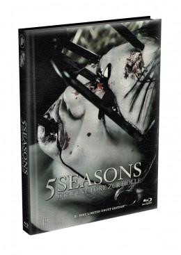 5 SEASONS - Die fünf Tore zur Hölle - 2-Disc wattiertes Mediabook - Cover N (Blu-ray + DVD) Limited 22 Edition - Uncut