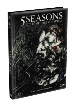 5 SEASONS - Die fünf Tore zur Hölle - 2-Disc wattiertes Mediabook - Cover O (Blu-ray + DVD) Limited 22 Edition - Uncut