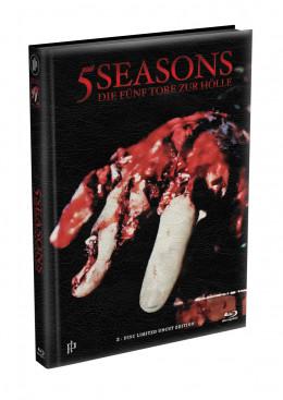 5 SEASONS - Die fünf Tore zur Hölle - 2-Disc wattiertes Mediabook - Cover P (Blu-ray + DVD) Limited 22 Edition - Uncut