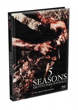 5 SEASONS - Die fünf Tore zur Hölle - 2-Disc wattiertes Mediabook - Cover Q (Blu-ray + DVD) Limited 22 Edition - Uncut