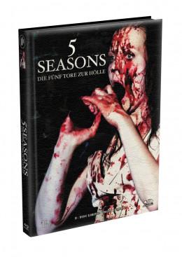 5 SEASONS - Die fünf Tore zur Hölle - 2-Disc wattiertes Mediabook - Cover R (Blu-ray + DVD) Limited 22 Edition - Uncut