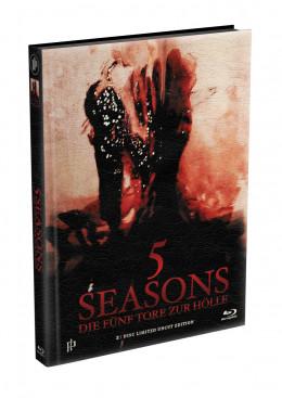 5 SEASONS - Die fünf Tore zur Hölle - 2-Disc wattiertes Mediabook - Cover S (Blu-ray + DVD) Limited 22 Edition - Uncut
