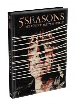 5 SEASONS - Die fünf Tore zur Hölle - 2-Disc wattiertes Mediabook - Cover W (Blu-ray + DVD) Limited 22 Edition - Uncut