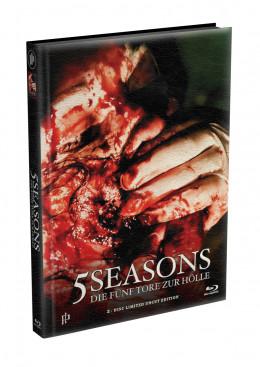 5 SEASONS - Die fünf Tore zur Hölle - 2-Disc wattiertes Mediabook - Cover X (Blu-ray + DVD) Limited 22 Edition - Uncut