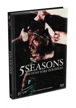 5 SEASONS - Die fünf Tore zur Hölle - 2-Disc wattiertes Mediabook - Cover Y (Blu-ray + DVD) Limited 22 Edition - Uncut