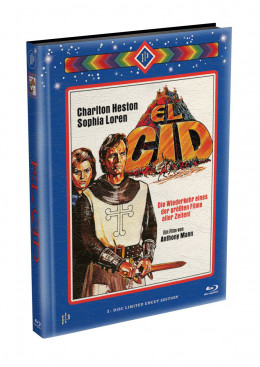 EL CID - wattiertes Mediabook Cover A [Blu-ray] Limited 149 Edition