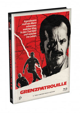 GRENZPATROUILLE (The Border) - wattiertes Mediabook Cover A [Blu-ray] Limited 122 Edition