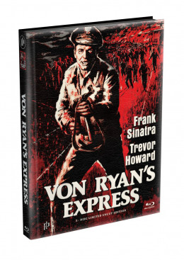 VON RYANS EXPRESS - Wattiertes Mediabook Cover A [Blu-ray] Limited 149 Edition