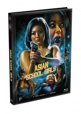 ASIAN SCHOOL GIRLS - Rache war nie süsser - 8 Minuten längere Version - 2-Disc wattiertes Mediabook - Cover A (Blu-ray + DVD) Limited 333 Edition - Uncut