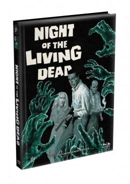 DIE NACHT DER LEBENDEN TOTEN (1968) - wattiertes Mediabook - Cover L (Blu-ray) Limited 22 Edition - Uncut