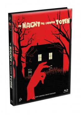 DIE NACHT DER LEBENDEN TOTEN (1968) - wattiertes Mediabook - Cover R (Blu-ray) Limited 22 Edition - Uncut