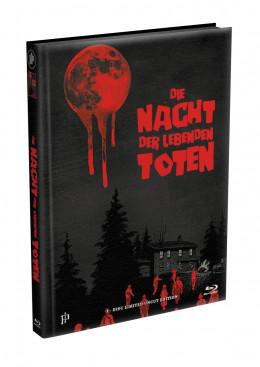 DIE NACHT DER LEBENDEN TOTEN (1968) - wattiertes Mediabook - Cover X (Blu-ray) Limited 22 Edition - Uncut