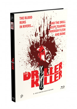 DRILLER KILLER - 2-Disc Mediabook Edition (Blu-ray + DVD) - Cover B Limited 66