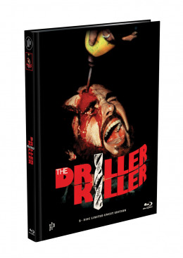 DRILLER KILLER - 2-Disc Mediabook Edition (Blu-ray + DVD) - Cover C Limited 333