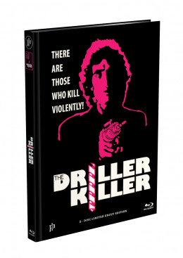 DRILLER KILLER - 2-Disc Mediabook Edition (Blu-ray + DVD) - Cover D Limited 66