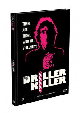 DRILLER KILLER - 2-Disc Mediabook Edition (Blu-ray + DVD) - Cover D Limited 66