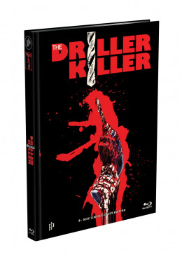 DRILLER KILLER - 2-Disc Mediabook Edition (Blu-ray + DVD) - Cover G Limited 66