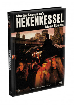 HEXENKESSEL (Mean Streets) 2-Disc wattiertes Mediabook Cover B [Blu-ray + DVD] Limited 66 Edition