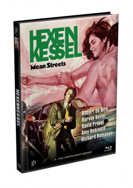 HEXENKESSEL (Mean Streets) 2-Disc wattiertes Mediabook Cover C [Blu-ray + DVD] Limited 66 Edition