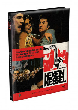 HEXENKESSEL (Mean Streets) 2-Disc wattiertes Mediabook Cover E [Blu-ray + DVD] Limited 66 Edition