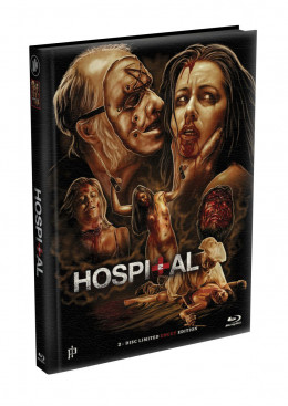 THE HOSPITAL 2 - 30 Minuten längere Version - 2-Disc wattiertes Mediabook - Cover A (Blu-ray + DVD) Limited 333 Edition - Uncut