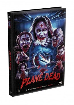 PLANE DEAD - 3-Disc wattiertes Mediabook - Cover B (Blu-ray + 2 x DVD) Limited Edition - Uncut