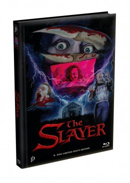 THE SLAYER - 2-Disc wattiertes Mediabook - Cover B (Blu-ray + DVD) Limited 333 Edition - Uncut