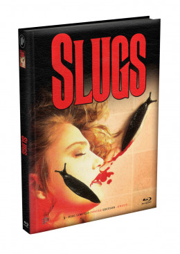 SLUGS - 3-Disc wattiertes Mediabook - Cover E (Blu-ray + 2 x DVD) Limited 222 Edition - Uncut