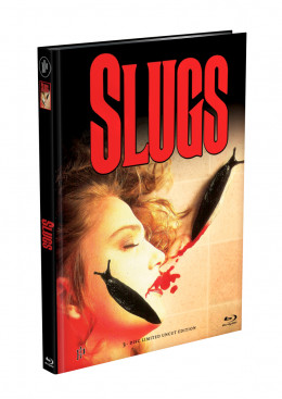 SLUGS - 3-Disc Mediabook Cover A (Blu-ray + 2xDVD) Limited 111 Edition - Uncut