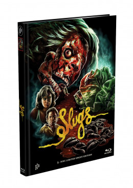 SLUGS - 3-Disc Mediabook Cover D (Blu-ray + 2xDVD) Limited 1500 Edition - Uncut