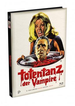 TOTENTANZ DER VAMPIRE - 2-Disc wattiertes Mediabook - Cover F (Blu-ray + DVD) Limited 333 Edition - Uncut - Poster