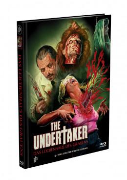 THE UNDERTAKER - Das Leichenhaus des Grauens - 4-DISC (2 Blu-ray+2 DVD) BLOODY PREMIUM MEDIABOOK EDITION Cover G - Limited 500 Edition