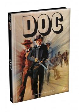 DOC - Wattiertes Mediabook Cover A [Blu-ray] Limited 149 Edition